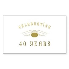 Celebrating 40 Years Of Marriage Decal