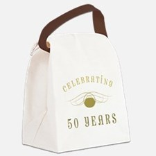 Celebrating 50 Years Of Marriage Canvas Lunch Bag