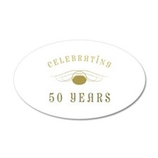 Celebrating 50 Years Of Marriage Wall Decal