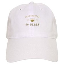 Celebrating 50 Years Of Marriage Baseball Cap