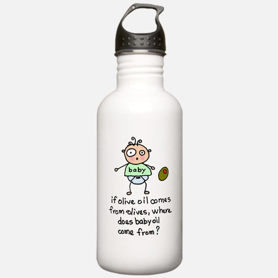 Where Does Baby Oil Come From? Water Bottle