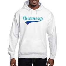 Blue Guernsey Jumper Hoodie