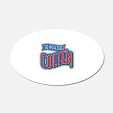 The Incredible Colten Wall Decal