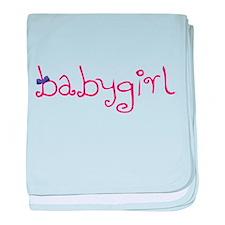 Babygirl baby blanket