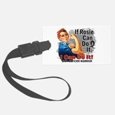 If Rosie Can Do It Skin Cancer Luggage Tag