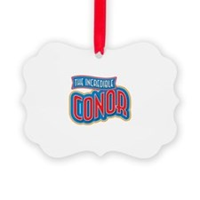 The Incredible Conor Ornament