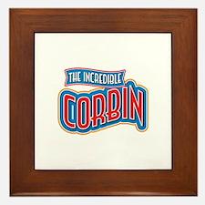 The Incredible Corbin Framed Tile