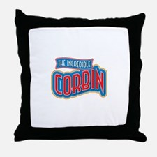 The Incredible Corbin Throw Pillow