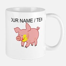 Custom Cartoon Pig Mug