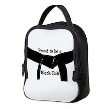 Proud to be a Black Belt Neoprene Lunch Bag