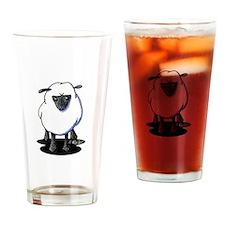 KiniArt Sheep Drinking Glass