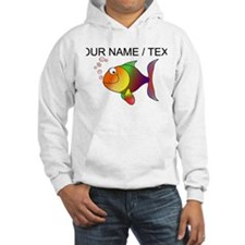 Custom Cartoon Tropical Fish Hoodie