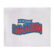 The Incredible Damarion Throw Blanket