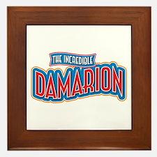 The Incredible Damarion Framed Tile
