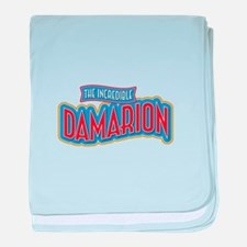 The Incredible Damarion baby blanket