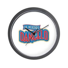 The Incredible Dangelo Wall Clock