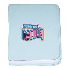 The Incredible Darien baby blanket