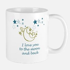 Moon and Back Small Small Mug