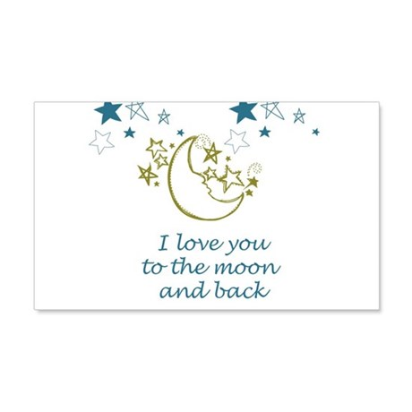 Moon and Back Wall Decal