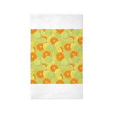 Citrus Benefits 3x5 Area Rug