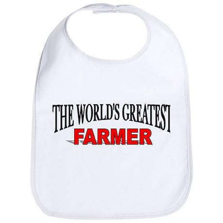 """The World's Greatest Farmer"" Bib"