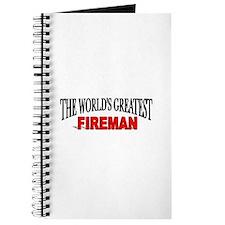 """""""The World's Greatest Fireman"""" Journal"""