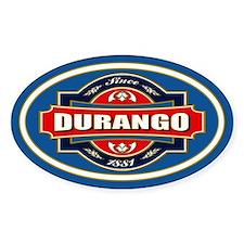 Durango Old Label Bumper Stickers