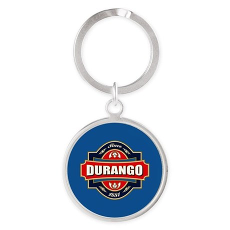 Durango Old Label Round Keychain