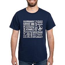 Liberal Values 2 T-Shirt