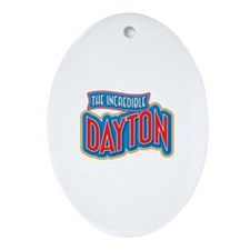 The Incredible Dayton Ornament (Oval)