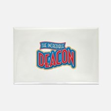 The Incredible Deacon Rectangle Magnet (100 pack)