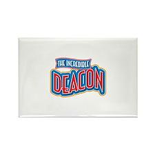 The Incredible Deacon Rectangle Magnet