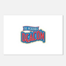 The Incredible Deacon Postcards (Package of 8)