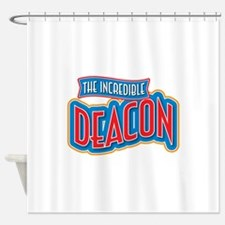 The Incredible Deacon Shower Curtain