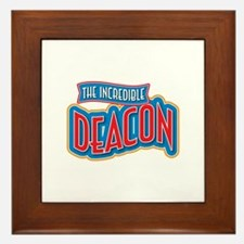 The Incredible Deacon Framed Tile