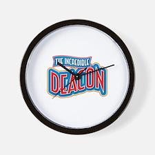 The Incredible Deacon Wall Clock