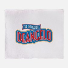 The Incredible Deangelo Throw Blanket