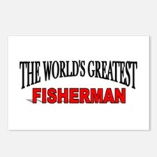 """The World's Greatest Fisherman"" Postcards (Packag"