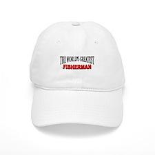"""The World's Greatest Fisherman"" Baseball Cap"