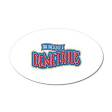 The Incredible Demetrius Wall Decal