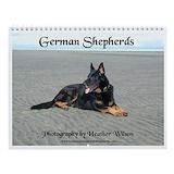 German shepherd art Calendars