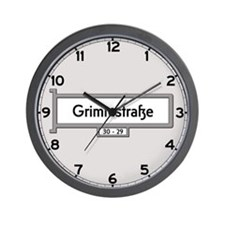 Grimmstrasse, Berlin - Germany Wall Clock