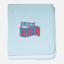 The Incredible Derick baby blanket