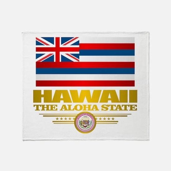 Hawaii Pride Throw Blanket