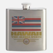 Hawaii Pride Flask