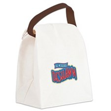 The Incredible Deshawn Canvas Lunch Bag
