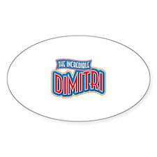 The Incredible Dimitri Decal