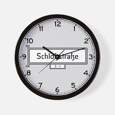 Schlosstrasse, Berlin - Germany Wall Clock