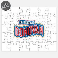The Incredible Donovan Puzzle