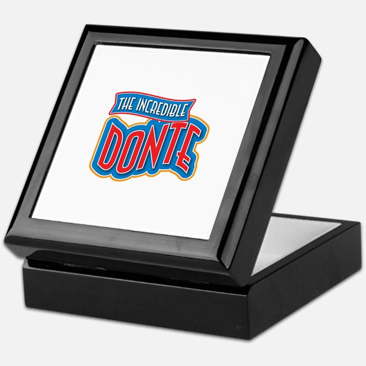 The Incredible Donte Keepsake Box
